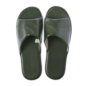 HOLA 現代皮拖鞋-綠XL