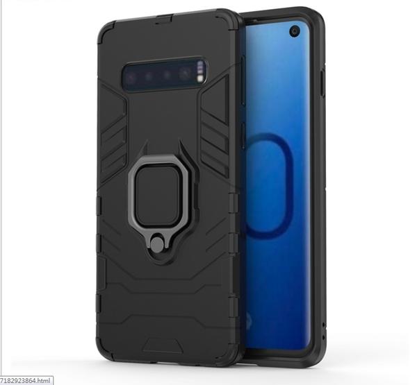 三星Note10+黑豹鎧甲手機殼三星Note10隱形指環支架防摔套