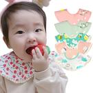 MuslinTree嬰兒口水巾寶寶圍兜360度圓形防水圍嘴  商品檢驗標示號:M3B497