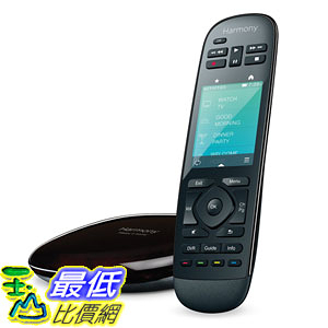 [104美國直購] Logitech 915-000237 Harmony Ultimate Home Touch Screen Remote (Black) 觸屏式 遙控器