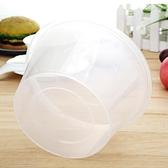 圓形1000ML一次性餐盒塑料打包加厚透明外賣飯盒快餐便當湯碗