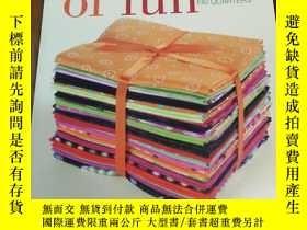 二手書博民逛書店Bundles罕見of Fun: Quilts From Fat