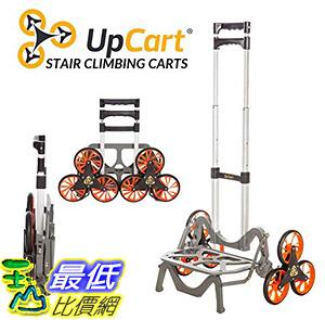 [8美國直購] 折疊手推車 UpCart Deluxe All-Terrain Stair Climbing Folding Cart B06XX1XF8D
