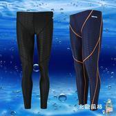 泳褲防水速幹鯊魚皮游泳衣男女九分長泳褲長腿防曬潛水服 耶誕交換禮物
