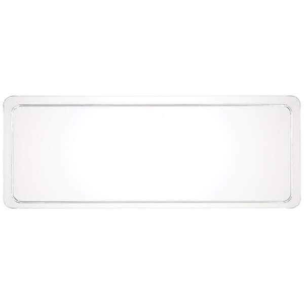 塑膠長方盤-透明