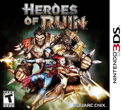 3DS Heroes of Ruin  毀減英雄(美版代購)