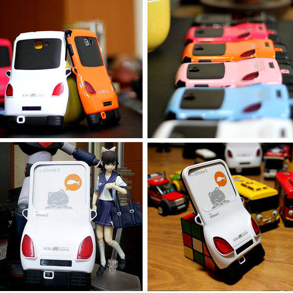 ★魅力登場 車子造型★KIKI Boong iPhone5 / iPhone5S 多彩汽車手機殼