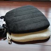 記憶棉坐墊-慢回彈餐椅適用防滑辦公室椅墊3色72as22【時尚巴黎】