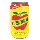 大西洋蘋果西打易開罐330ml*6入【愛...