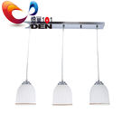 【 燈巢1+1】 燈具。燈飾。Led居家照明。桌立燈。工廠直營批發 典雅玻璃3燈吊燈 02081746