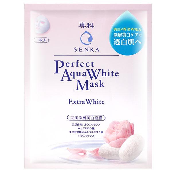 洗顏專科完美深層美白面膜1片
