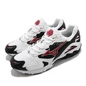 Mizuno 慢跑鞋 Wave Rider 10 白 黑 紅 復刻 男鞋 美津濃 運動鞋【ACS】 D1GA2102-01