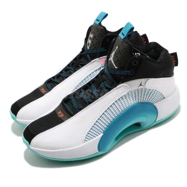 Nike 籃球鞋 Air Jordan XXXV GC PF 35 郭艾倫 白 藍 喬丹 男鞋 AJ35 【ACS】 CZ8153-100