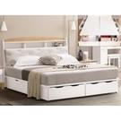 床架 QW-242-2A 芮妮5尺雙人床 (床頭+床底)(不含床墊) 【大眾家居舘】