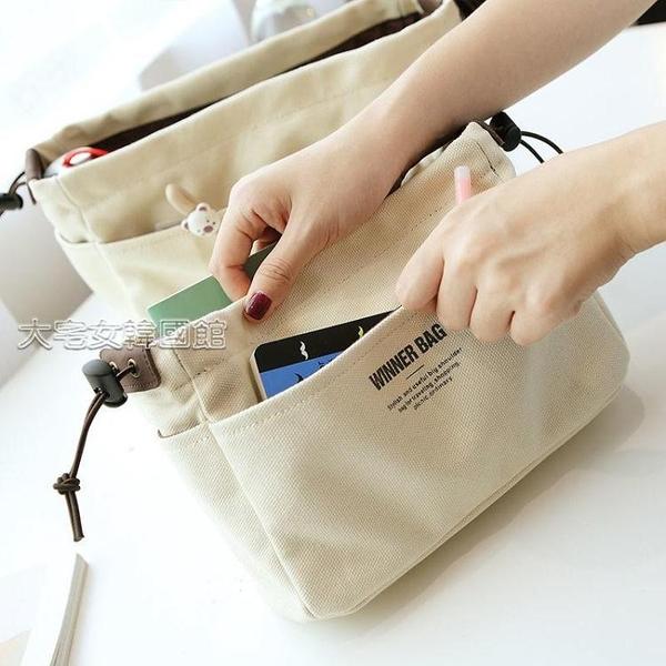 內膽包包中包龍驤內膽包包整理超輕分隔撐托特包內袋膽化妝包 快速出貨
