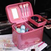 化妝包化妝包便攜收納包韓國大容量隔層大號化妝箱手提專業旅行洗漱包女