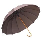 長柄雨傘 加大直立傘晴雨傘115cm實木彎柄抗風雙人傘 i萬客居