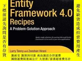 二手書博民逛書店Entity罕見Framework 4.0 Recipes: A Problem-Solution Approac
