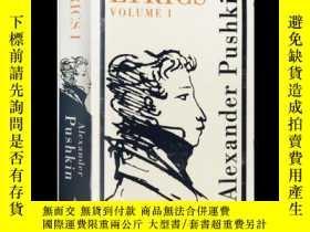 二手書博民逛書店普希金詩歌集:卷一罕見英文原版 Alma Classics:Lyrics Volume 1 (1813-17) 俄