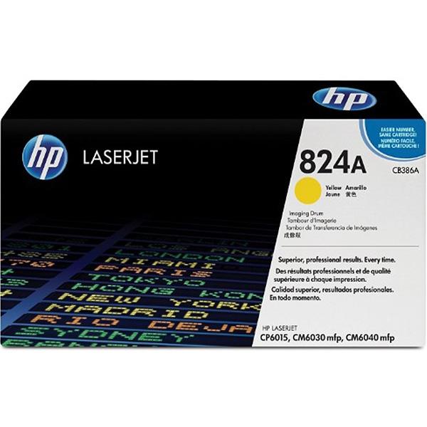 CB386A HP 824A 黃色原廠影像感光滾筒 適用 CP6015/CM6040/CM6030 CM6340