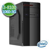 技嘉B360平台【睿智御守】i3四核 GTX1060-3G獨顯 1TB效能電腦