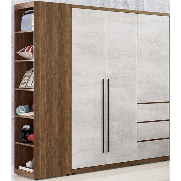 衣櫃 衣櫥 QW-101-345 緹諾5尺衣櫃【大眾家居舘】