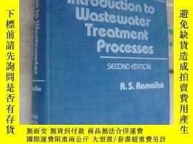 二手書博民逛書店Introduction罕見to Wastewater Trea