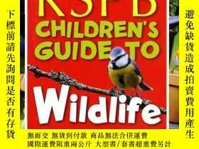 二手書博民逛書店RSPB罕見Children s Guide to Wildli