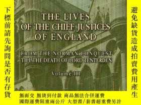 二手書博民逛書店The罕見Lives Of The Chief Justices Of EnglandY256260 John