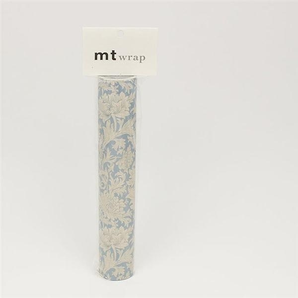 mt WRAP(標準補充包) ・William Morris Chrysanthemum Toile mt和紙自黏包裝紙..