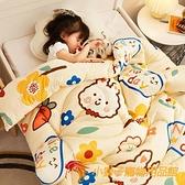 嬰兒被子秋冬新生寶寶小被子加厚兒童棉被四季通用【小獅子】