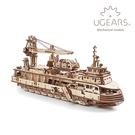 烏克蘭 UGEARS 木製自走模型 - ...