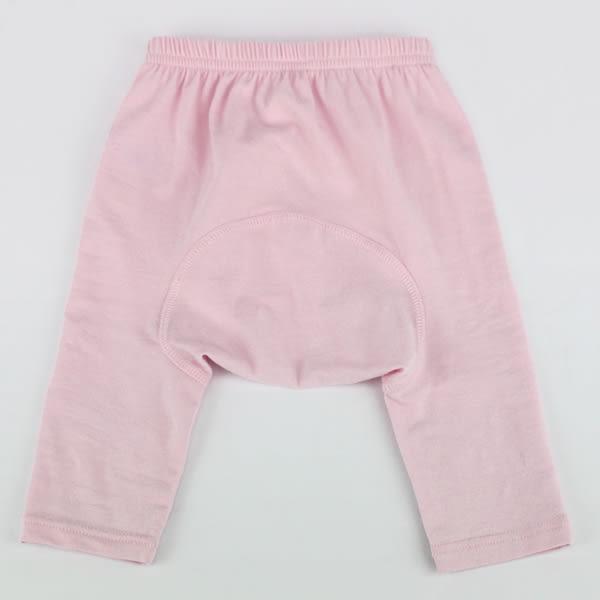 【愛的世界】彈性緊身長褲/3~6個月-台灣製- ★幼服推薦 超值特惠