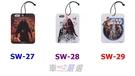 車之嚴選 cars_go 汽車用品【SW-27】日本 NAPOLEX Disney 星際大戰圖案 吊掛式紙卡芳香劑 香片-3種選擇
