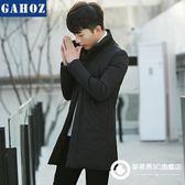 羽絨外套 2018新款冬裝男羽絨服中長款韓版修身潮流帥氣青年冬季輕薄款外套