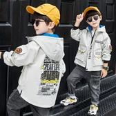 童裝男童秋裝外套2020年新款春秋款兒童洋氣中大童秋季男孩韓版潮 Korea時尚記