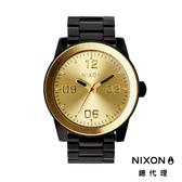 NIXON CORPORAL 型男熱銷款 金黑 潮人裝備 潮人態度 禮物首選