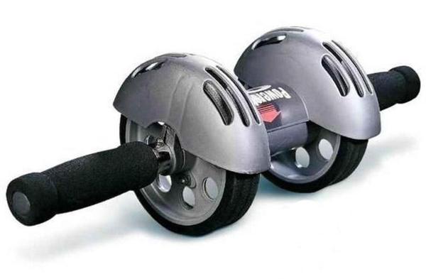 雙輪健腹輪特別款【NIS046】JF06送跪墊 超級靜音腹肌輪 收瘦腰腹輪滾輪 超穩回彈