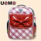 【特價再95折】【UnMe】chuchu雙層後背書包-紅色3235N-R
