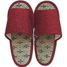 【波克貓哈日網】藺草室內拖鞋◇日本製女用◇《優雅暗紅色》