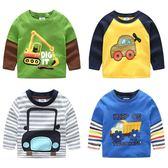新款韓版童裝兒童寶寶卡通t恤打底衫