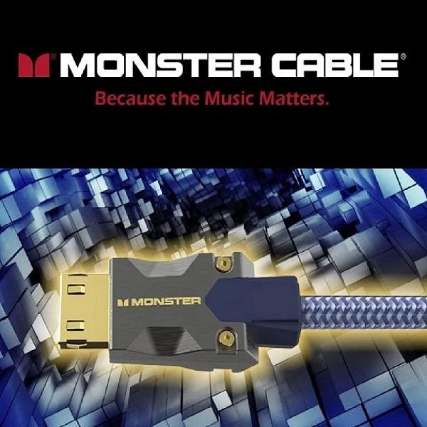 【新竹推薦 名展音響】MONSTER 魔聲 M系列 10米 M3000 8K HDMI 2.1光纖線