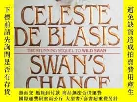 二手書博民逛書店原版英文書《罕見Swan s Chance 》by Celes
