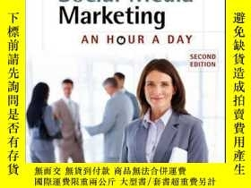 二手書博民逛書店Social罕見Media Marketing: An Hour a Day, 2nd EditionY410