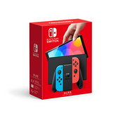 【預購依序發貨】任天堂 Nintendo Switch (OLED款式) 臺灣公司貨黑色主機 藍紅 手把+遊戲+支架