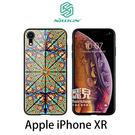 【妃凡】NILLKIN Apple iPhone XR 歐藝彩窗玻璃手機殼 鋼化玻璃 鏡面效果 (K)