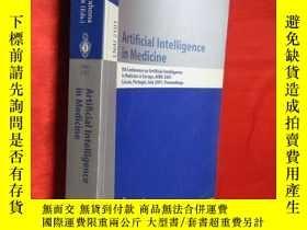二手書博民逛書店Artificial罕見Intelligence in Medi