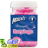[美國直購] Mack s Mac-6307 Ear Care Dreamgirl Soft Foam Earplugs, 50 Count 耳塞 _T01