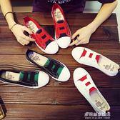 帆布鞋夏季新款小白帆布女鞋百搭韓版學生春季懶人一腳蹬淺口布鞋子    多莉絲旗艦店