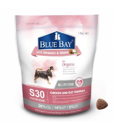 狗寶飼料 - 倍力S30有機保健飼料1.5kg - 雞肉+燕麥=心血管保健低敏配方